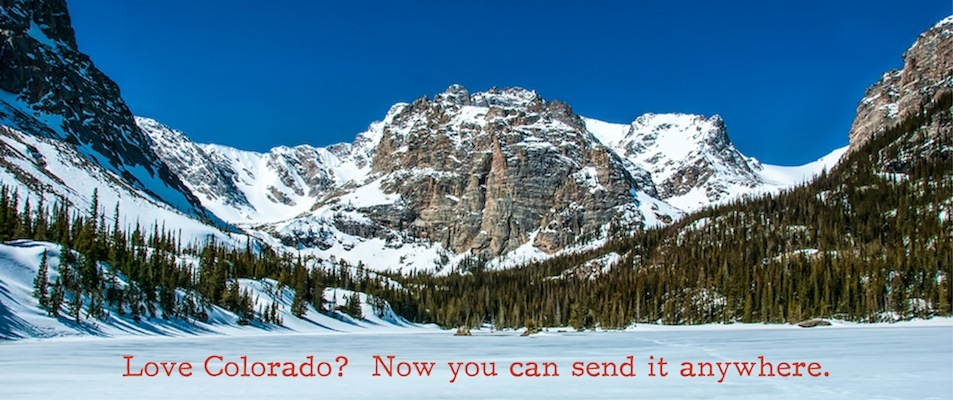 Custom Postcards from Colorado